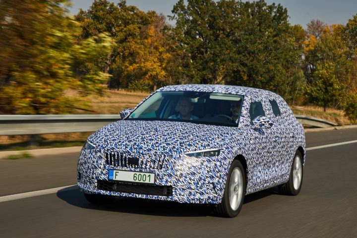 Skoda Scala 2019 Prototype Reviews Complete Car