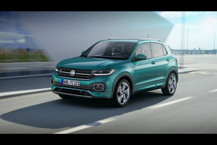 New 2019 Volkswagen T-Cross SUV unveiled