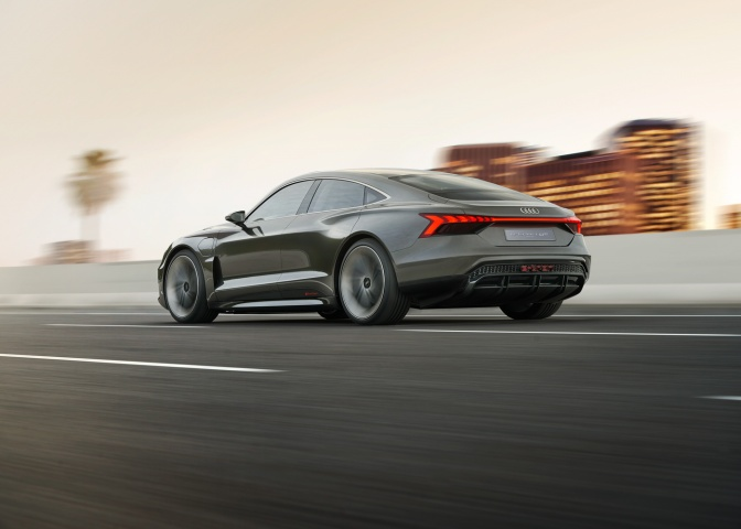 Audi Los Angeles >> Audi E Tron Gt Unveiled At Los Angeles Motor Show Car And