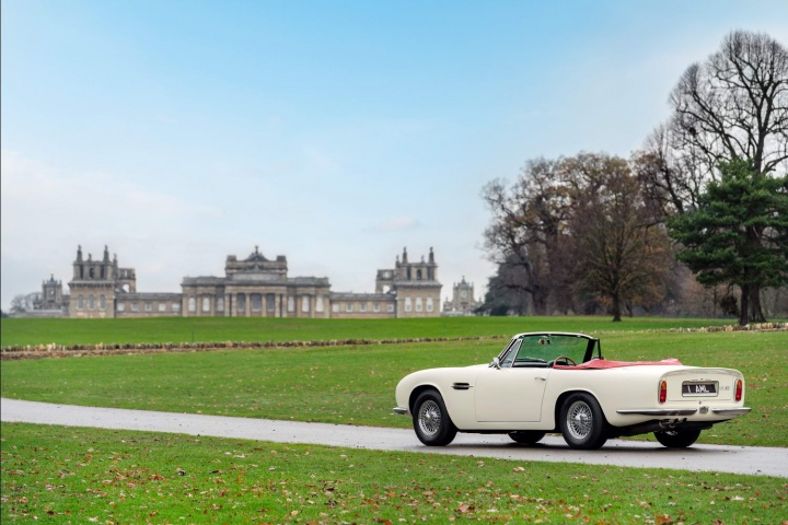 Aston Martin shows electric classic