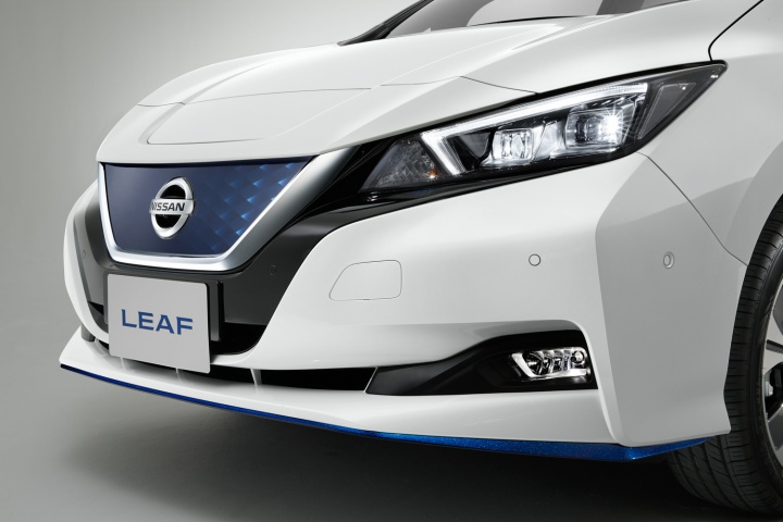 Nissan launches more powerful, longer range Leaf