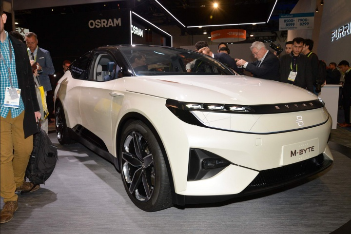 Kia Las Vegas >> Byton M-Byte concept car at CES - car and motoring news by ...