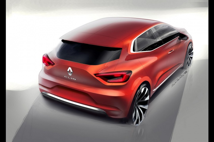 Renault reveals exterior of new 2019 Clio