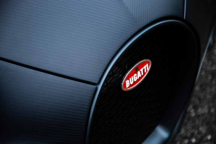 Limited Bugatti Chiron Sport honours France