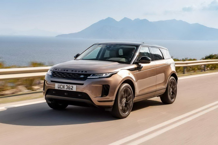 Range Rover Evoque Black 4 Door
