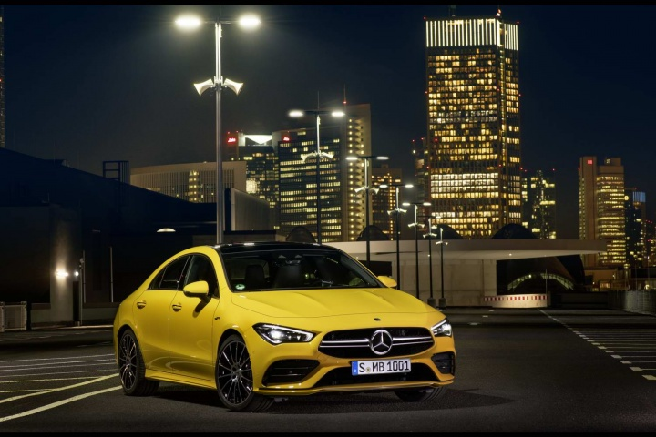 Mercedes-AMG CLA 35 4Matic revealed