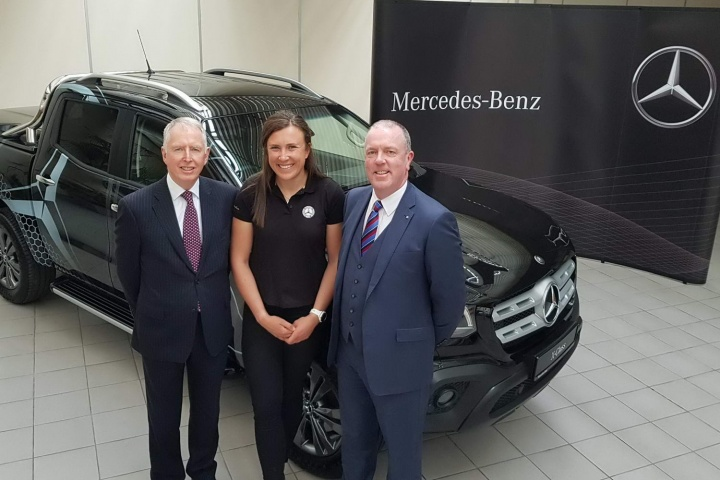 Mercedes-Benz supports Irish Olympian Annalise Murphy