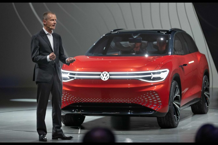 Volkswagen ID Roomzz stars in Shanghai - car and motoring ...