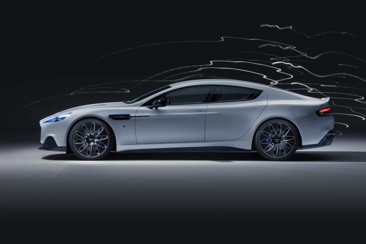 Electric Aston Rapide E debuts in China