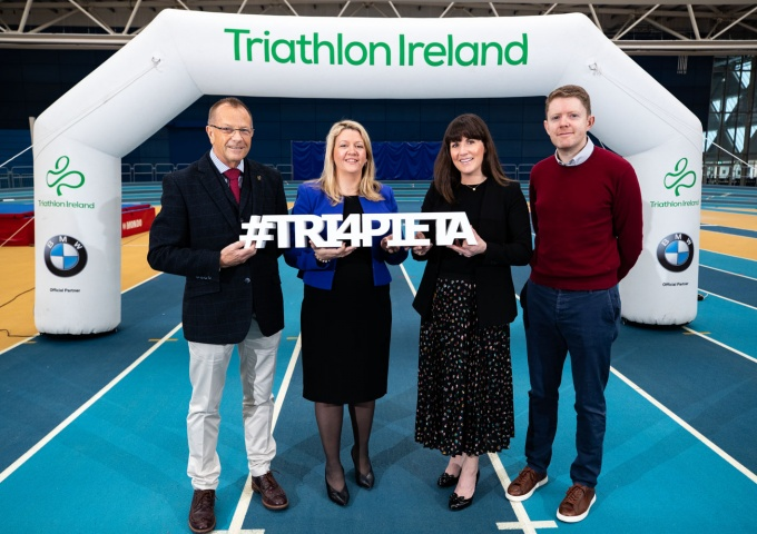 BMW and Triathlon Ireland support Pieta House