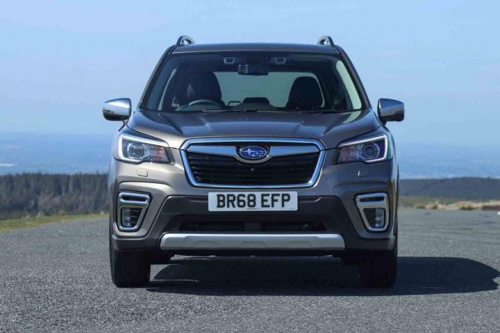 Subaru Forester e-Boxer (2019 pre-production)   Reviews ...