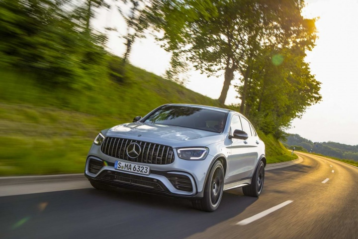 Mercedes-AMG GLC 63 S Coupe