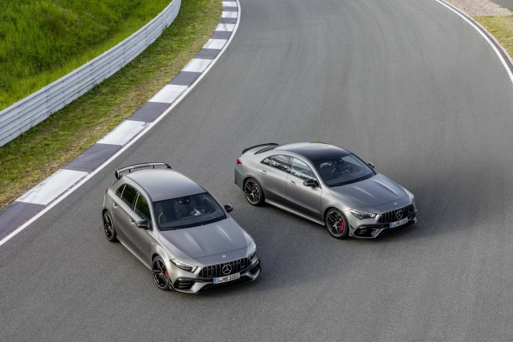 Mercedes-AMG unleashes A 45 and CLA 45