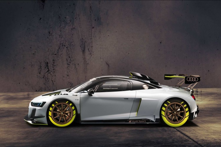 Audi R8 LMS GT2 is the most powerful to date