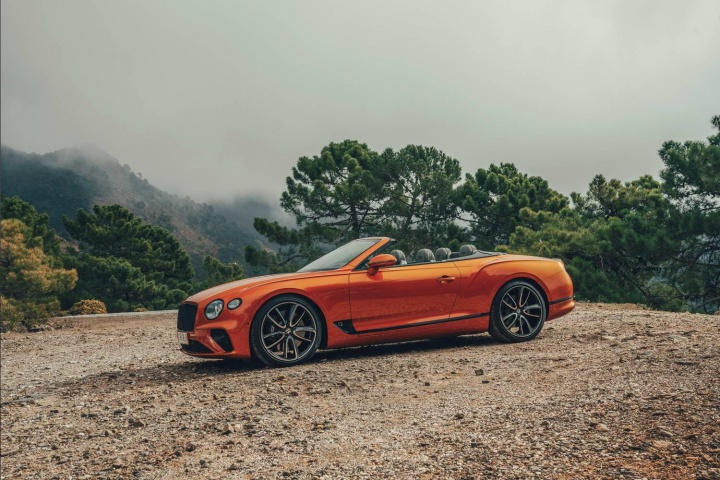 Bentley Continental GT Convertible (2019)