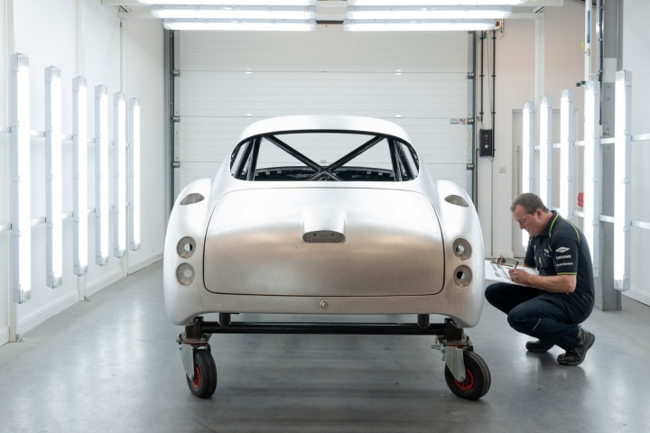 Aston ramps up work on DB4 Zagatos