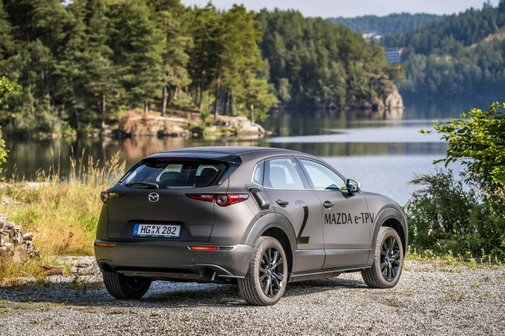 Mazda electric SUV (2020 prototype) | Reviews | Complete Car