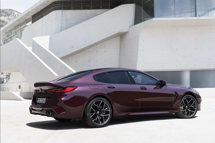BMW M8 Gran Coupe lands with 625hp