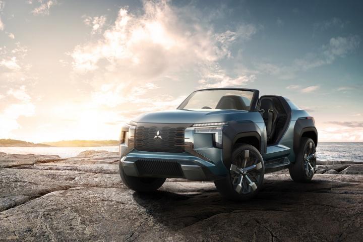 Mitsubishi Mi Tech Concept Car And Motoring News By