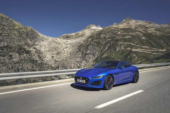 sharp new look for 2020 jaguar f-type