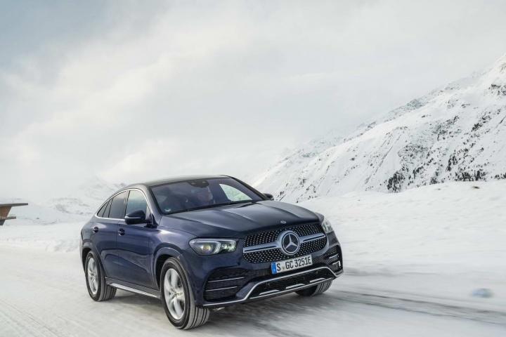 Mercedes-Benz GLE 350 de hybrid Coupe (2020) review