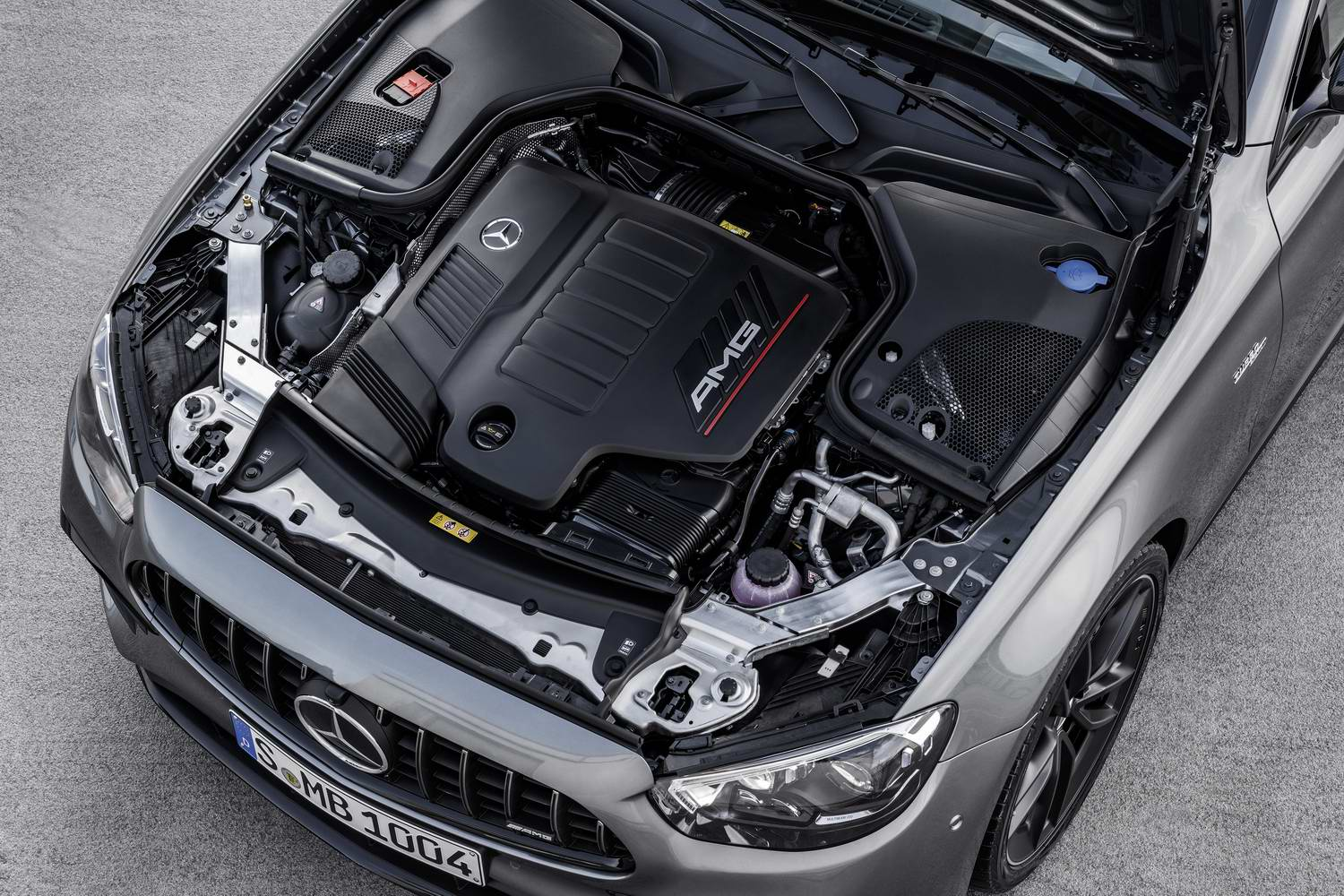 Hybrid E 53 arrives from Mercedes-AMG