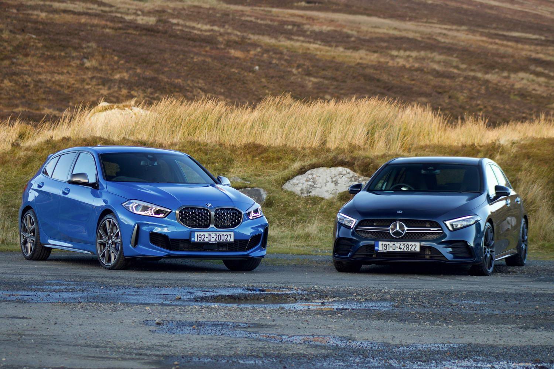 Hot hatch twin test: BMW M135i vs Mercedes-AMG A 35