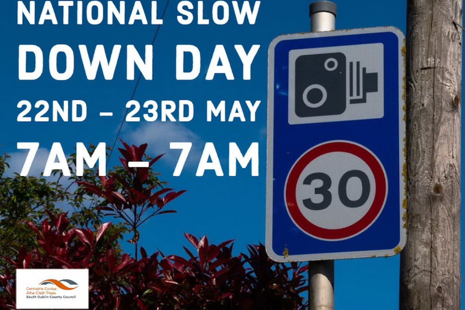National Slow Down Day is Friday, 22nd May