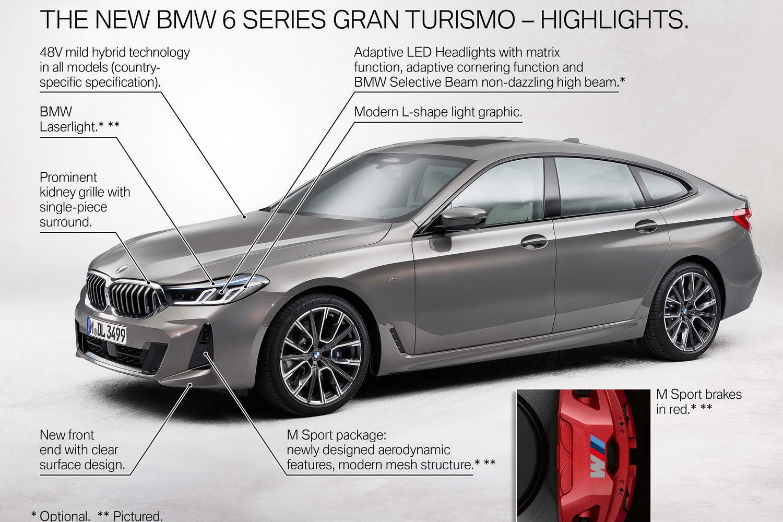 Car News   2021 BMW 6 Series Gran Turismo image gallery   CompleteCar.ie