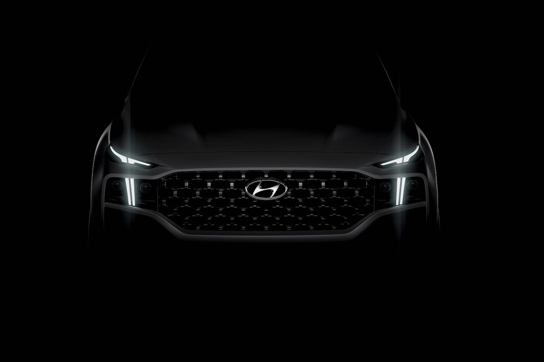 Car News | Hyundai teases dramatic new Santa Fe | CompleteCar.ie