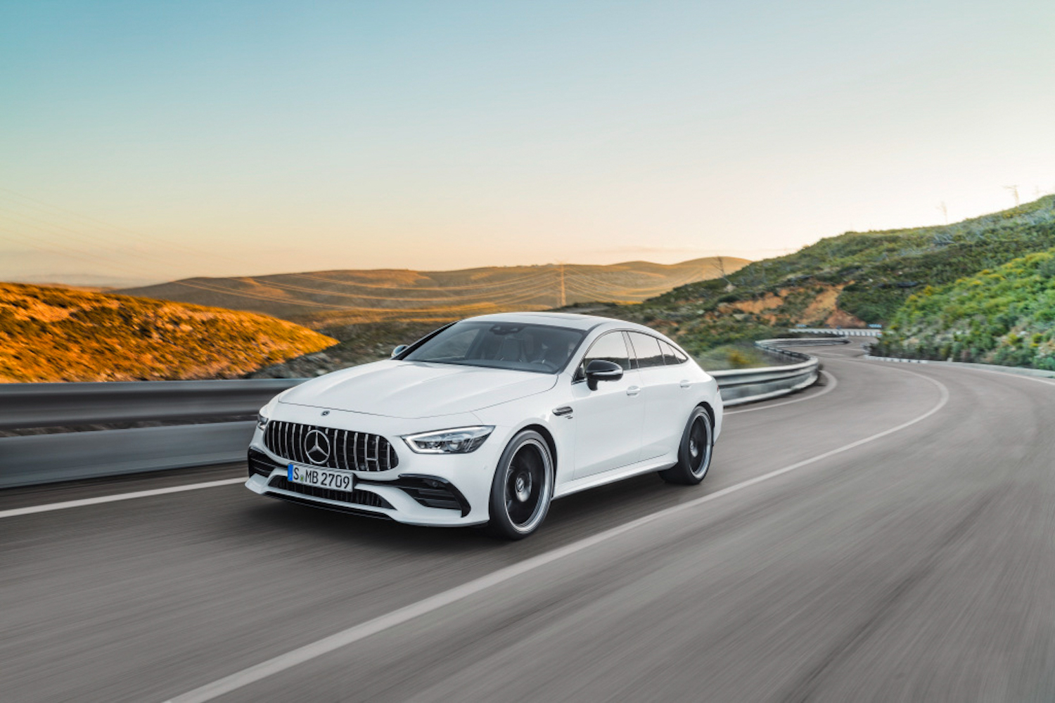 Car News | Mercedes-AMG GT 43 four-door | CompleteCar.ie