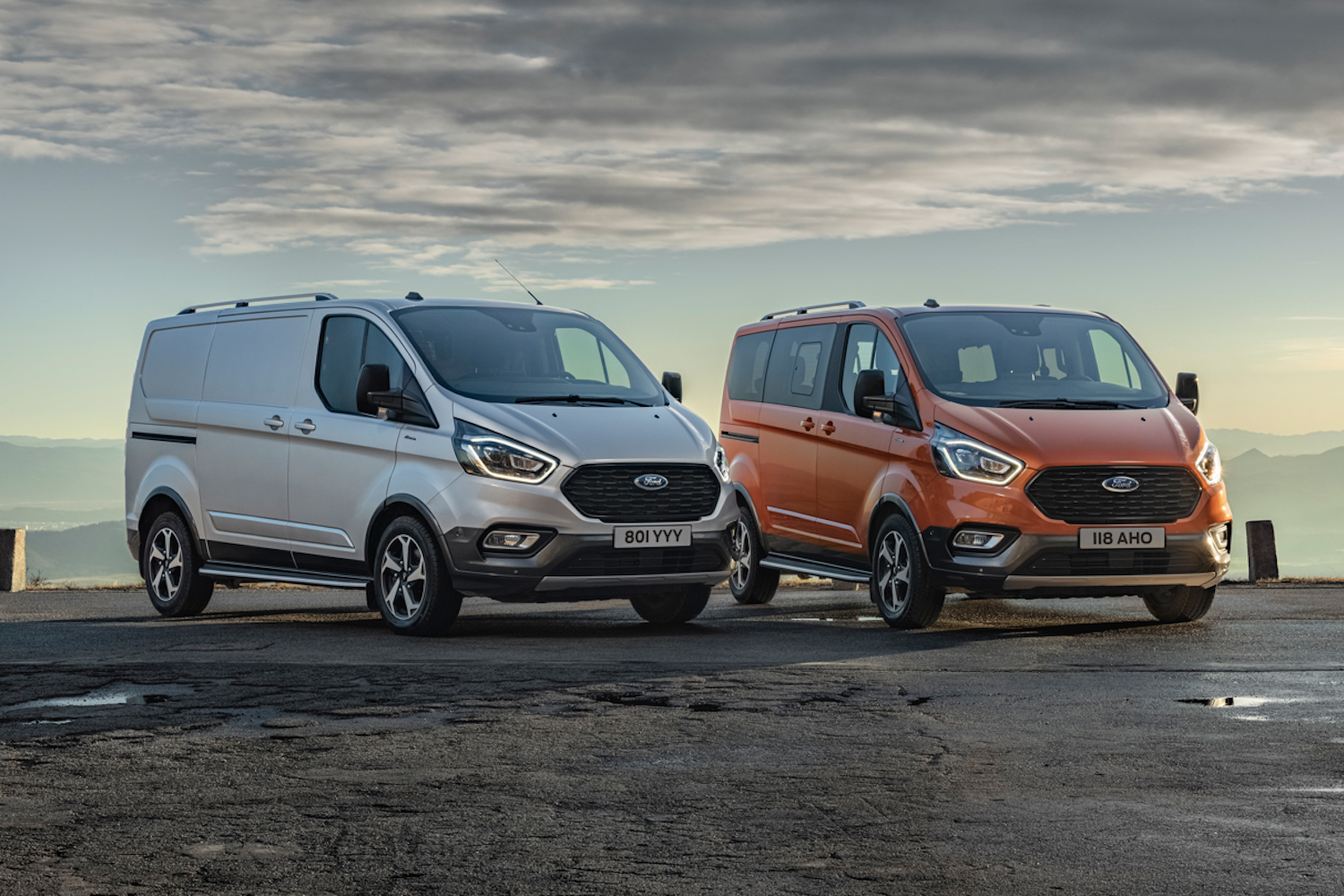 Car News | New Ford Transit models ready for adventure