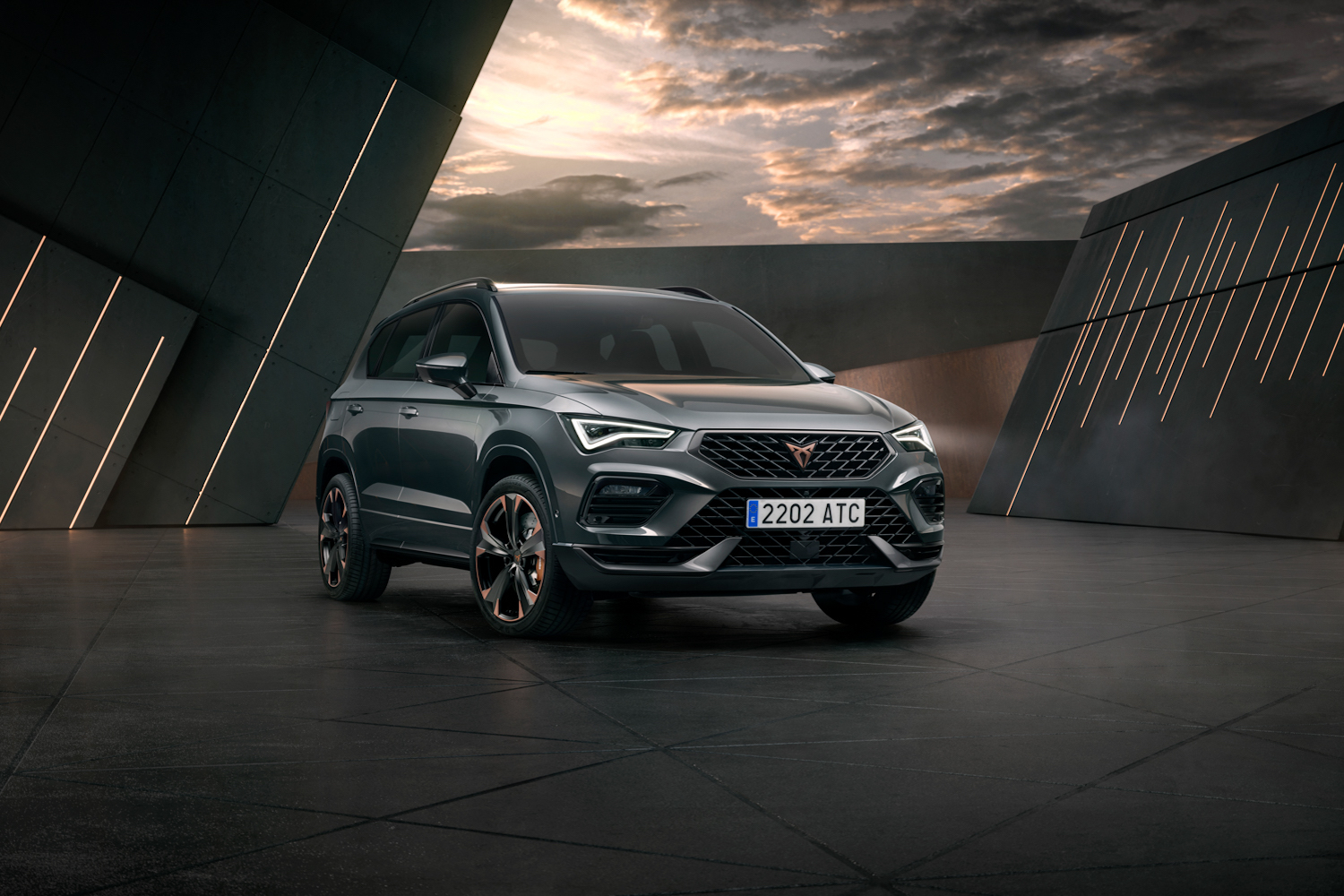 Car News | SEAT updates its hot CUPRA Ateca | CompleteCar.ie