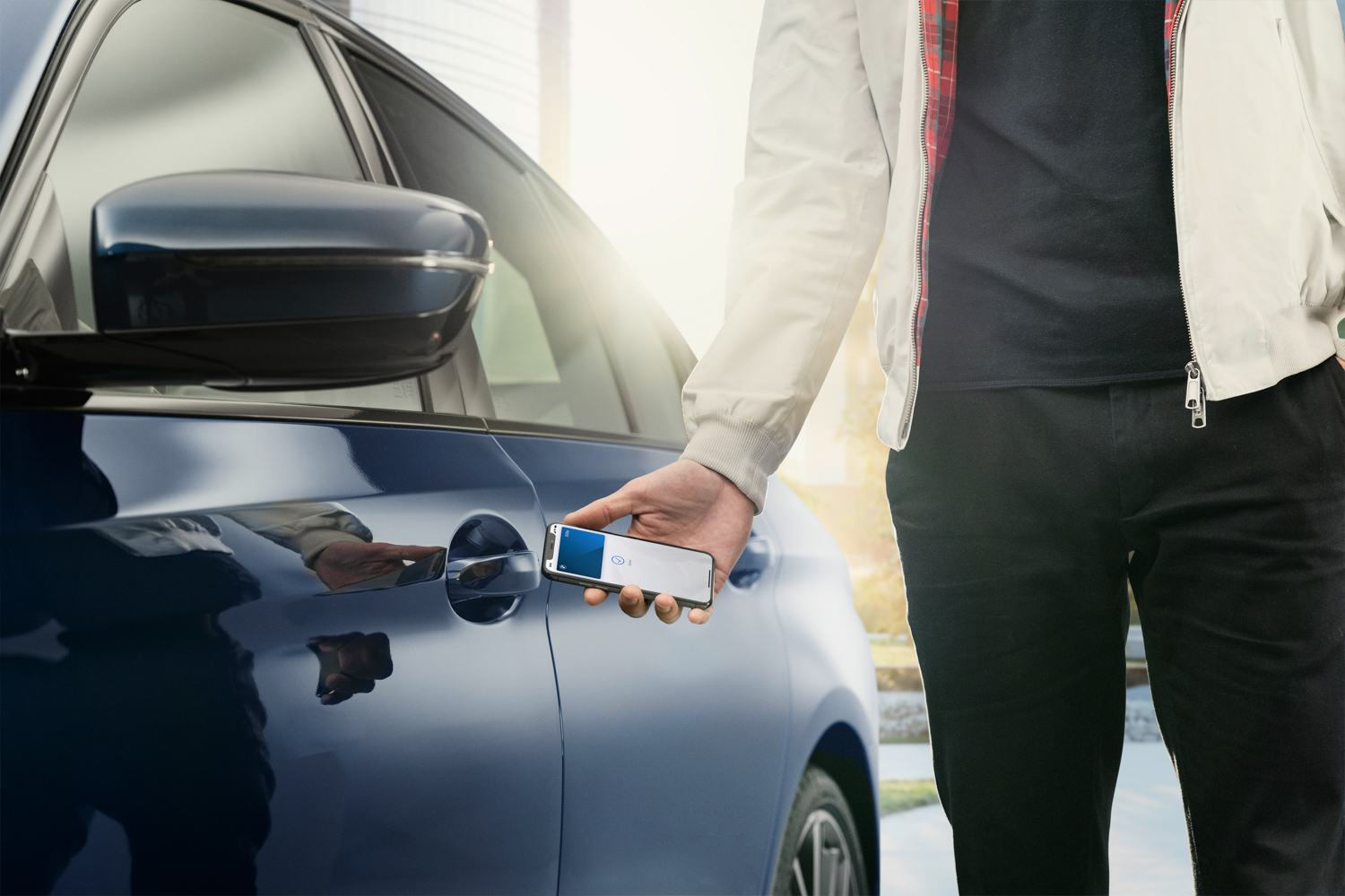 Car News | BMW first with Apple phone key | CompleteCar.ie
