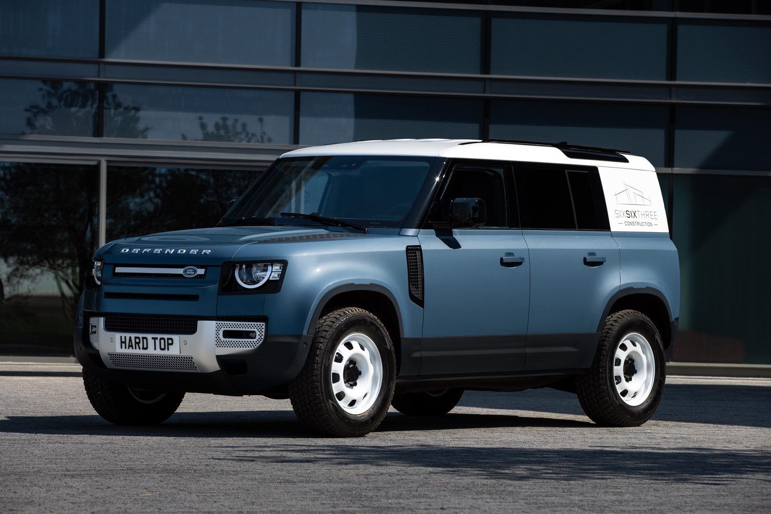 Car News | Hard Top name returns for commercial Land Rover | CompleteCar.ie
