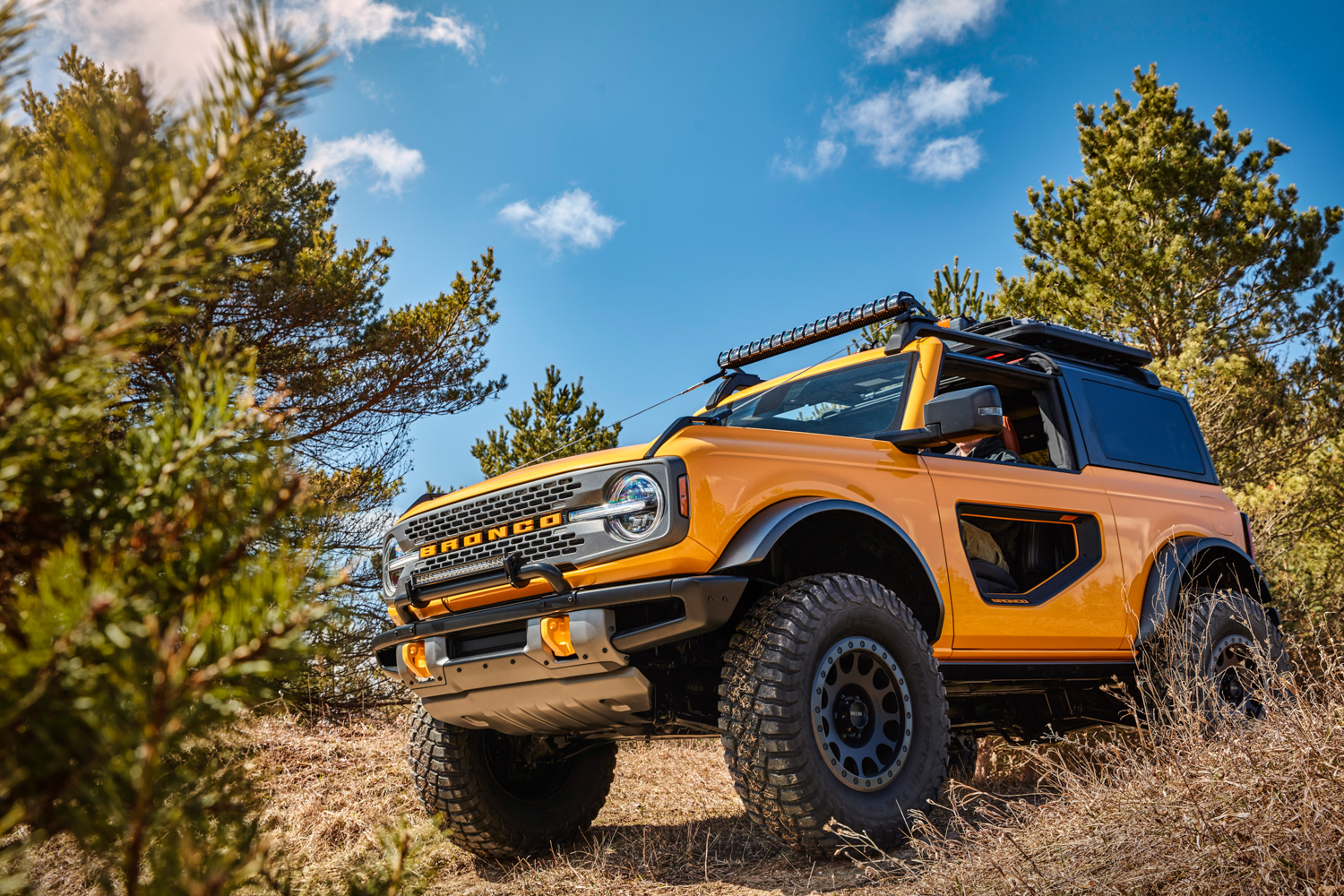 Ford Shows Off New Bronco 4x4 Range Car And Motoring News By Completecar Ie
