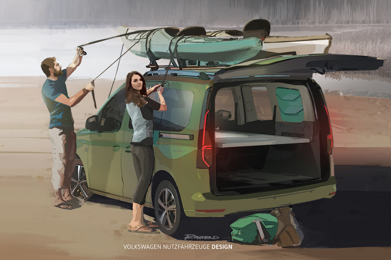 Car News | Volkswagen Caddy Beach campervan | CompleteCar.ie