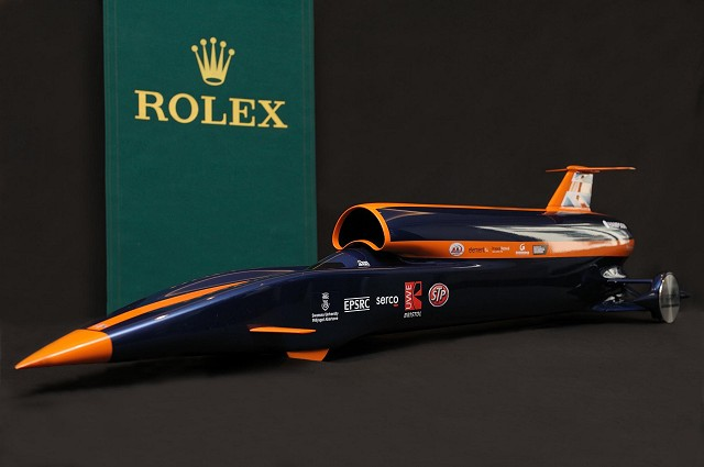 Car News | Rolex to sponsor land speed record attempt | CompleteCar.ie