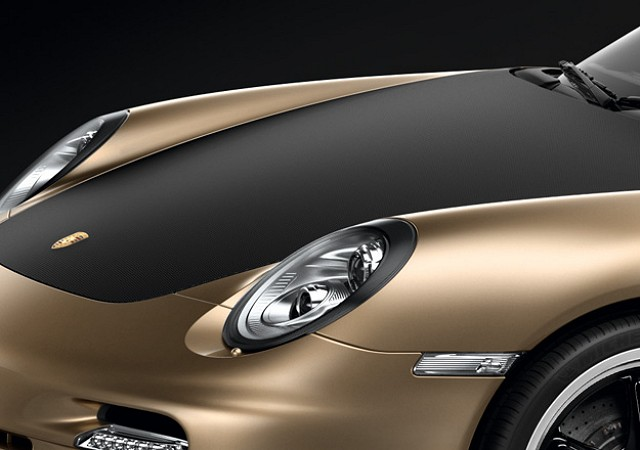 Car News | Unique gold 911 Turbo for China | CompleteCar.ie