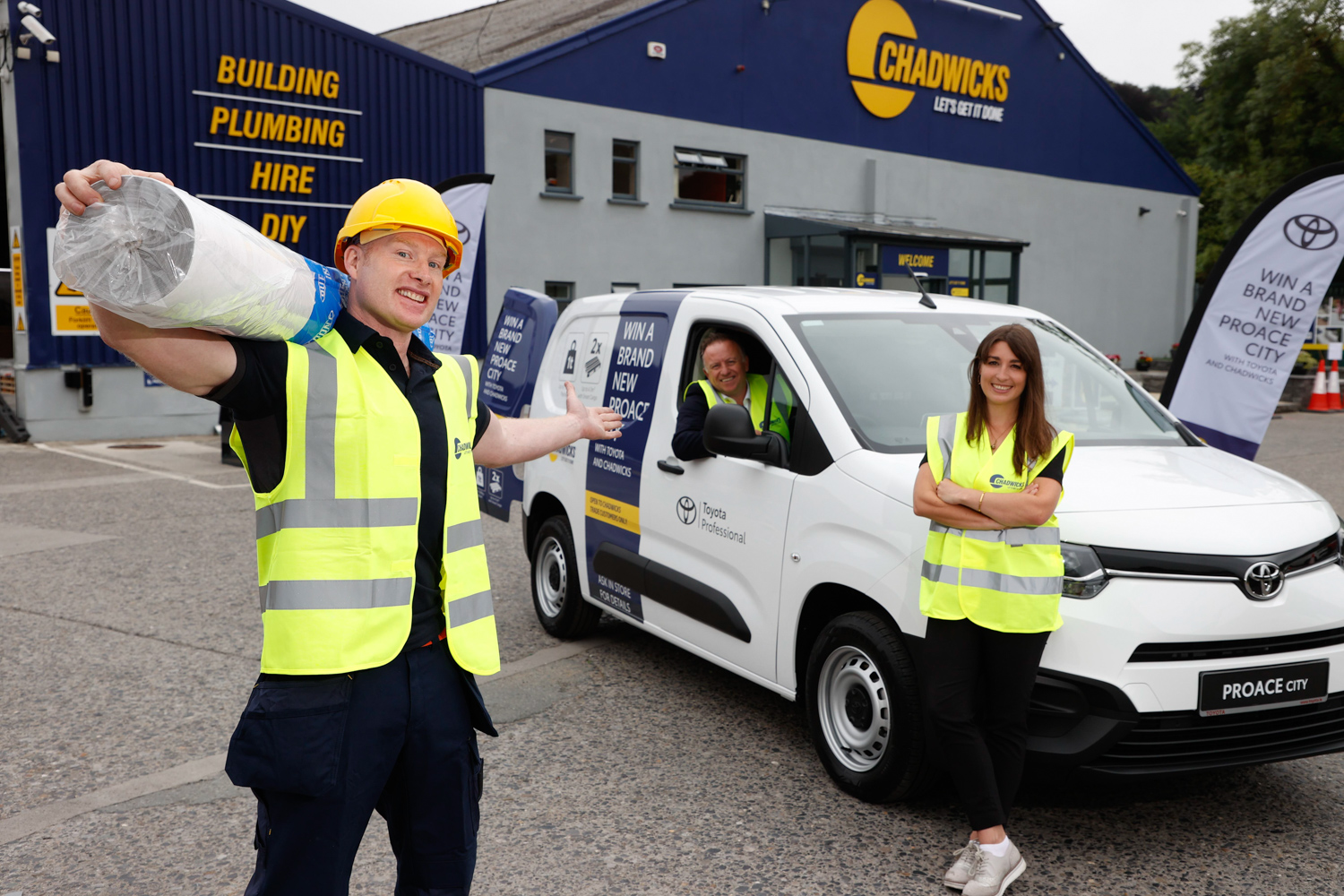 Car News | Chadwicks and Toyota Ireland partner for van giveaway | CompleteCar.ie