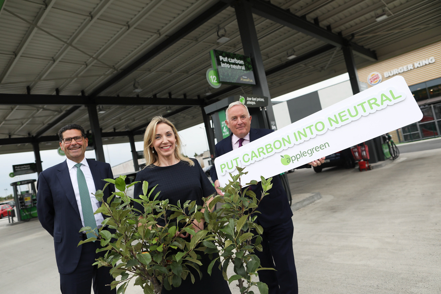 Car News   Applegreen wants to neutralise its carbon   CompleteCar.ie