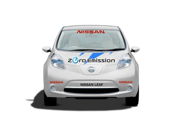 Nissan LEAF to race at Pikes Peak