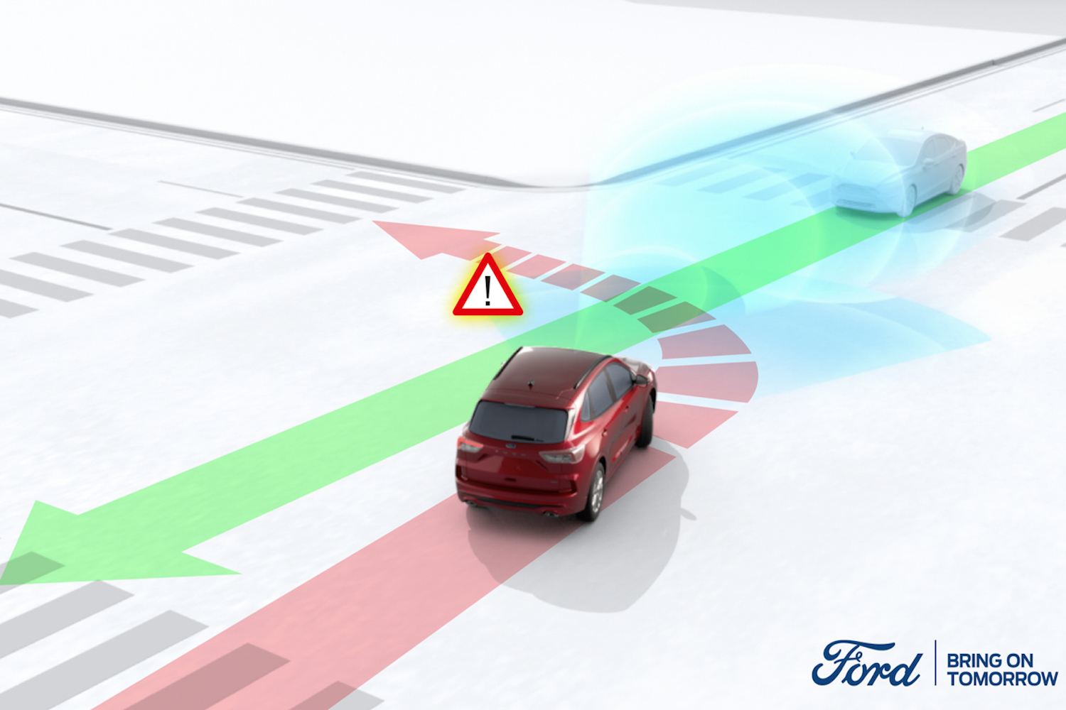 Car News | Ford Blind Spot Assist steering system | CompleteCar.ie