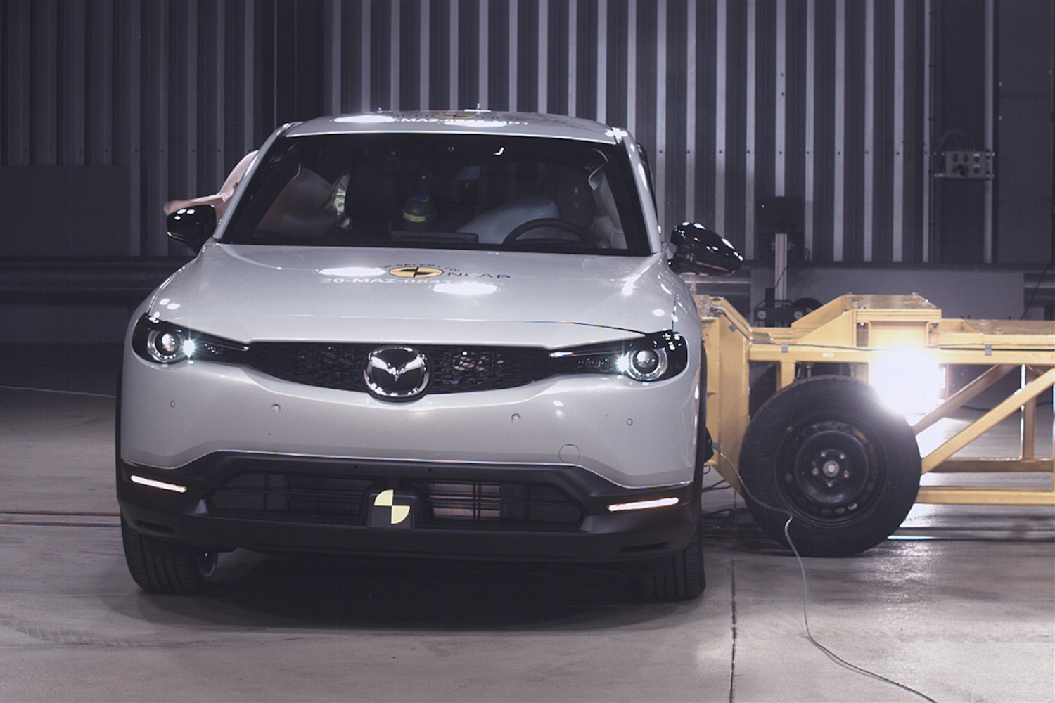 Car News | Mazda MX-30 and Jazz get top Euro NCAP crash results | CompleteCar.ie