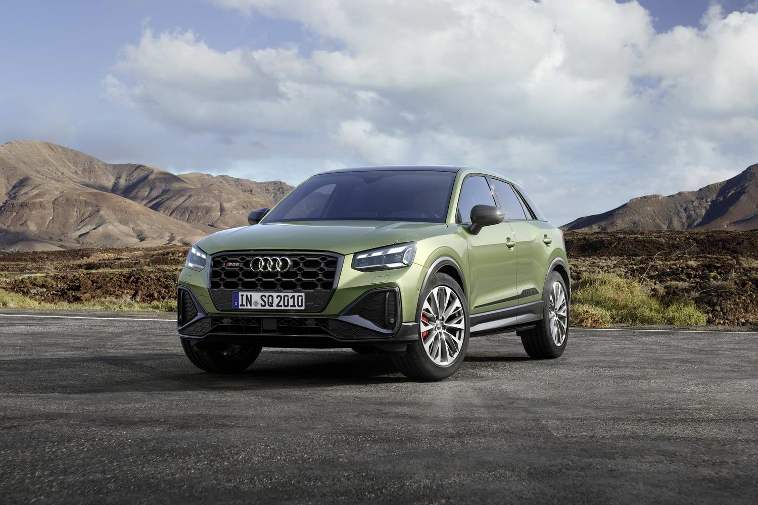 Car News | Audi updates sporty SQ2 crossover | CompleteCar.ie