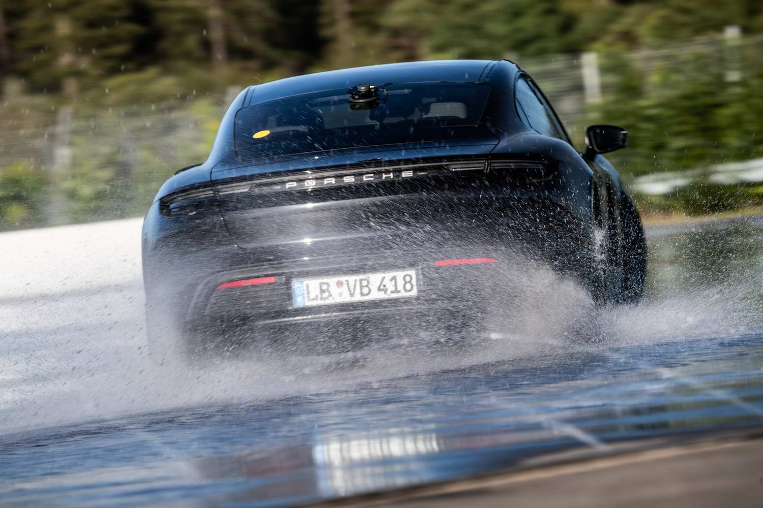 Car News | Porsche Taycan sets electric drift record | CompleteCar.ie