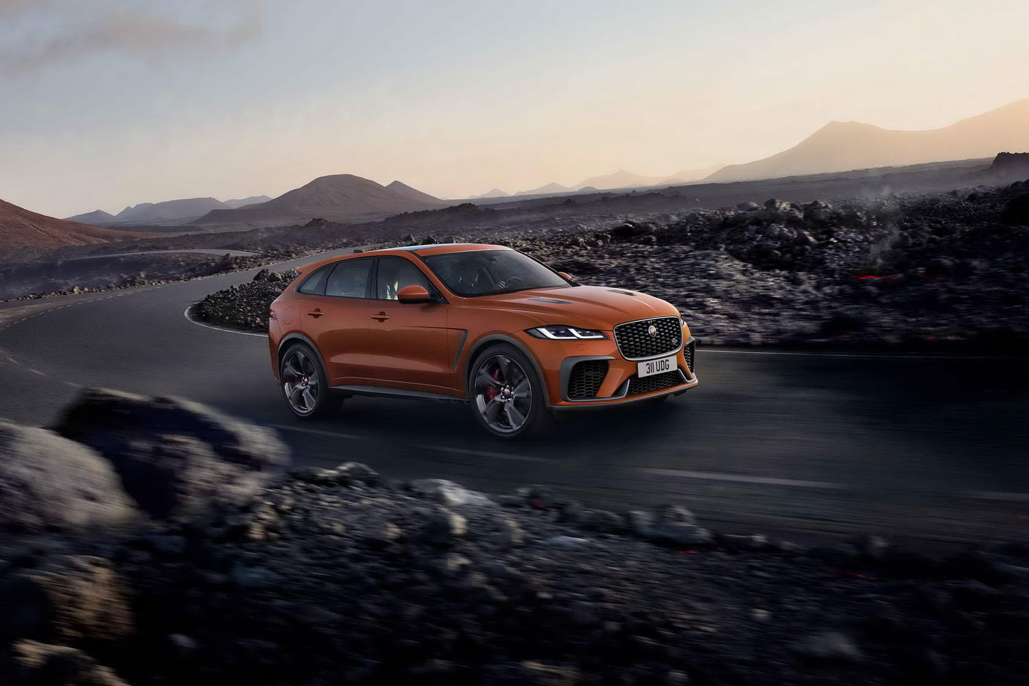 Car News | Jaguar shows off updated F-Pace SVR | CompleteCar.ie