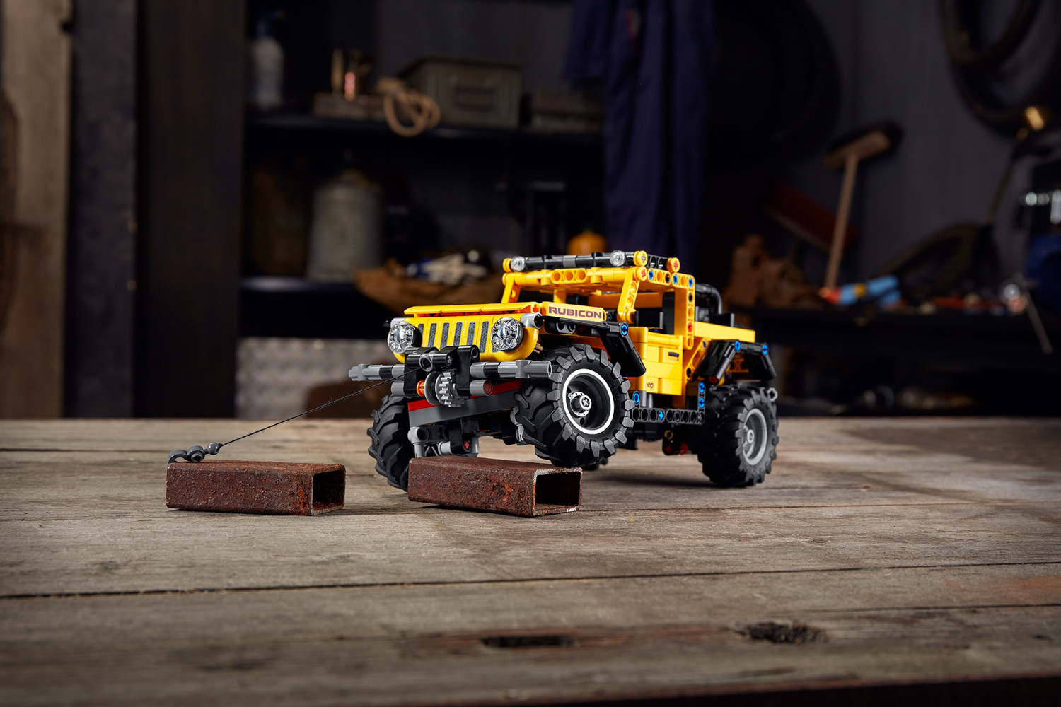 Car News | Lego Jeep ready for adventures behind the sofa | CompleteCar.ie