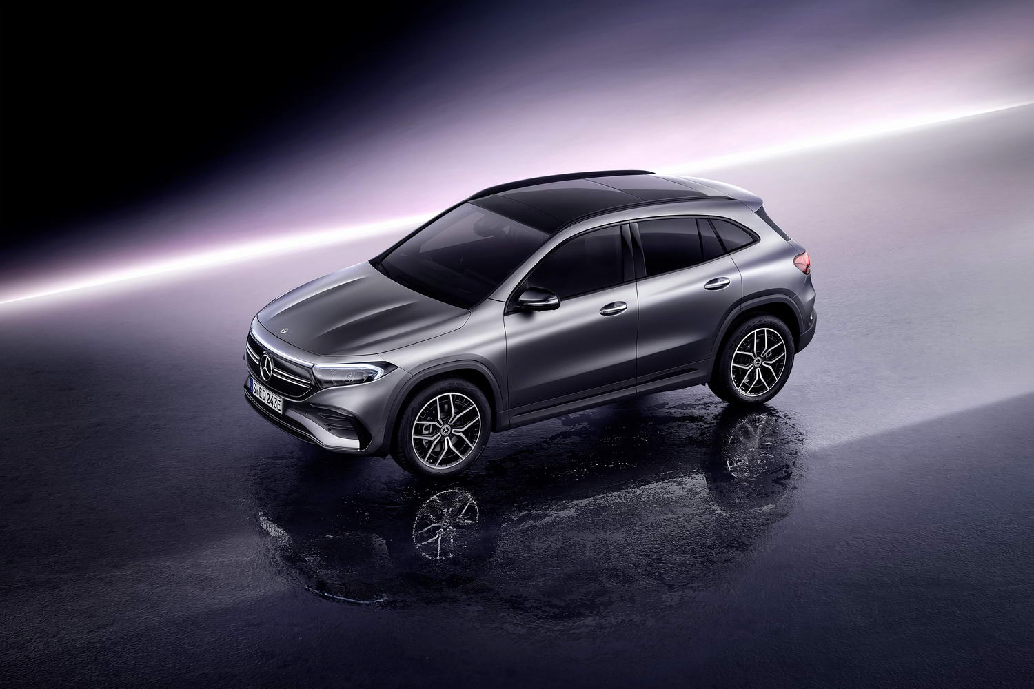 Car News | Mercedes reveals electric EQA crossover | CompleteCar.ie