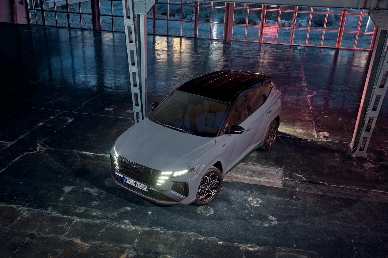 Car News | Hyundai shows off Tucson N-Line | CompleteCar.ie